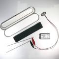 SilverTravel Recharge Pencase Zilvermaker met oplaadbare 9V batterij