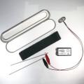 SilverTravel Recharge Pencase Zilvermaker met USB oplaadbare 9V batterij